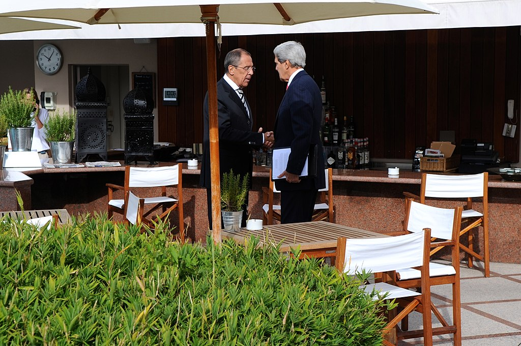 Filesecretary Kerry Foreign Minister Lavrov Meet To Finalize Syria