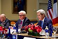 Secretary Kerry Addresses European Counterparts During Meeting at Tufts University in Massachusetts (29787383852).jpg