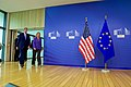 Secretary Kerry Walks With EU High Representative Mogherini Before Their Meeting in Brussels (27657340590).jpg