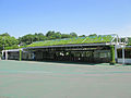 Seibu-Kyujo-mae Station entrance 20110622 (1).JPG