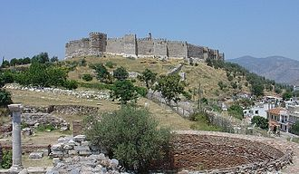 Selçuk - The grand Byzantine fortress of Selçuk on Ayasoluk Hill