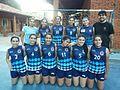 """Selección De Handball Sub 18, campeón del """"Intercolegial"""" Nathanael 2015.jpg"""