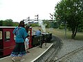Semaphore signals. Eastleigh Lakeside Railway - geograph.org.uk - 1996387.jpg