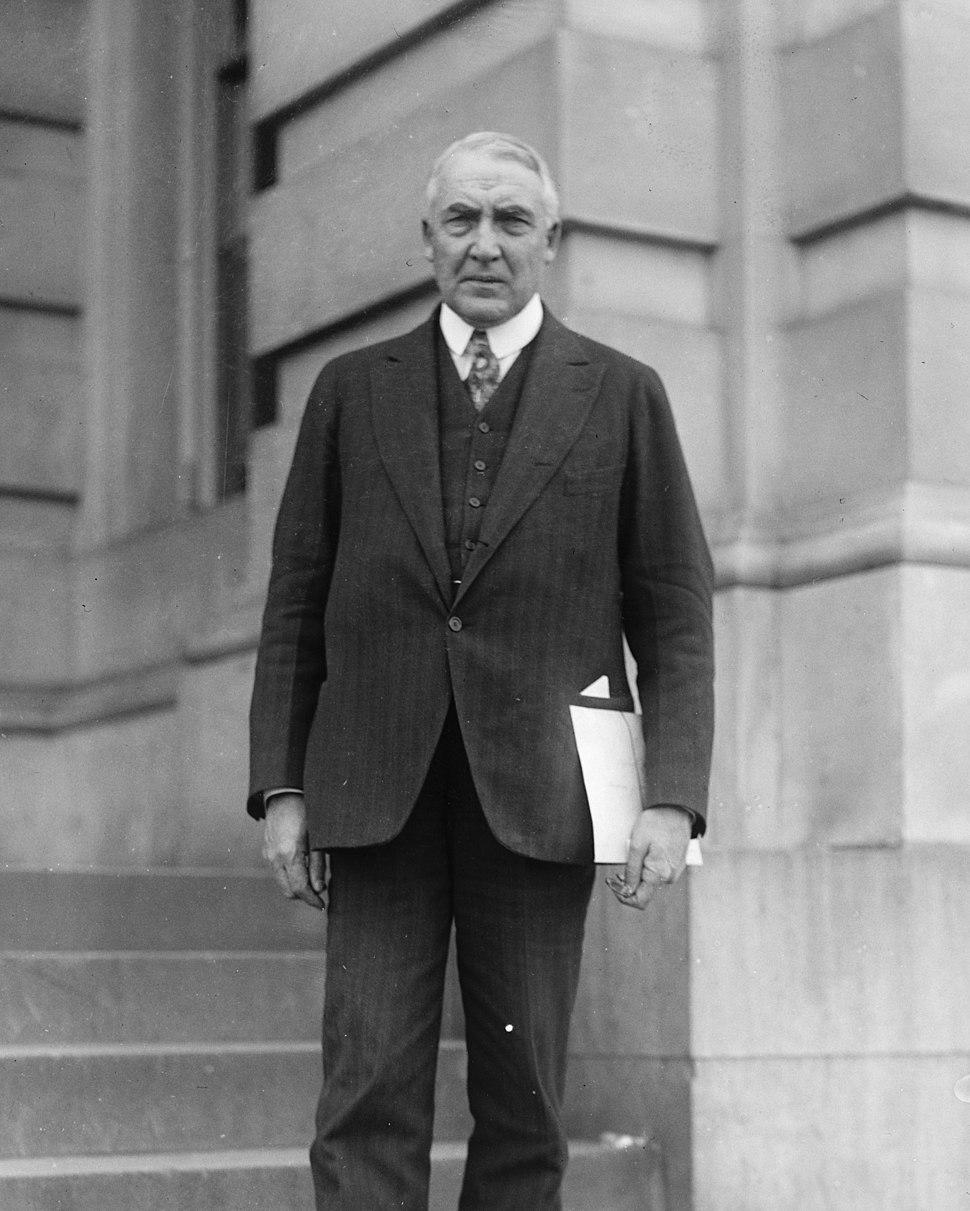 Sen. Warren S. (G.) Harding LCCN2016819939 (cropped)