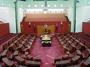 Senate, Parliament House, Canberra.JPG