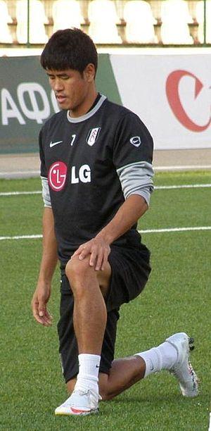 Seol Ki-hyeon - Seol Ki-Hyeon training for Fulham F.C.