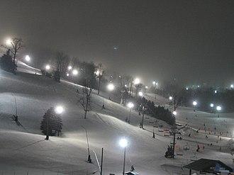 Seven Springs Mountain Resort - Night skiing at Seven Springs