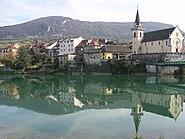 Seyssel rive Haute-Savoie