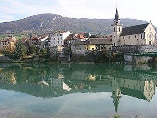 Seyssel, Haute-Savoie Commune in Auvergne-Rhône-Alpes, France