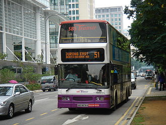Duple Metsec - SBS Transit's Dennis Trident 3 with Duple Metsec DM5000 body