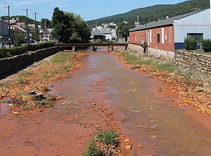 Shamokin Creek - Shamokin Creek in Shamokin
