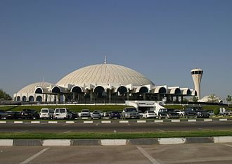 Sharjah International Airport - Image: Sharjah International (SHJ OMSJ) AN0609523