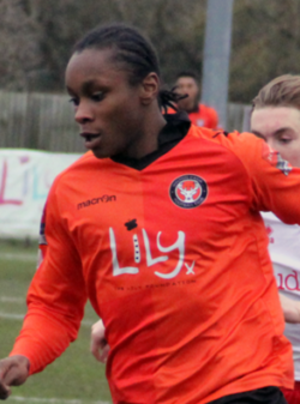 Shawn McCoulsky - McCoulsky in action for Walton Casuals in 2015.