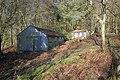 Sheds, Oak House Plantation - geograph.org.uk - 1700291.jpg