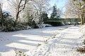 Sheet's Heath Lane bridge and canal, Brookwood - geograph.org.uk - 1717765.jpg