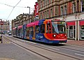 Sheffield Supertram No. 118 in Church Street - geograph.org.uk - 1248972.jpg