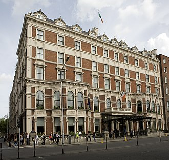 Shelbourne Hotel - The Shelbourne Hotel, August 2008