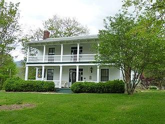Shelton House (Waynesville, North Carolina) - Shelton House, April 2011