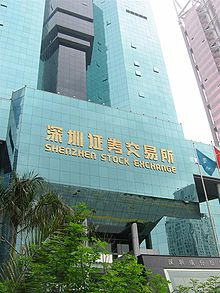 Shenzhen Stock Exchange Wikipedia