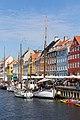 Ships at the middle part of northern Nyhavn, København.jpg
