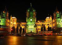 Gmach Chapatri Shivaji Terminus jest jednym z najbardziej znanych zabytków miasta