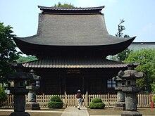 Japanisches Dach japanische tempelarchitektur