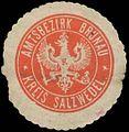 Siegelmarke Amtsbezirk Brunau Kreis Salzwedel W0348803.jpg