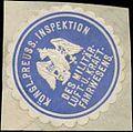 Siegelmarke K.Pr. Inspektion des Militär- Luft- und Kraftfahrwesens W0370612.jpg