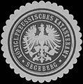 Siegelmarke K.Pr. Katasteramt Segeberg W0358455.jpg