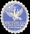 Siegelmarke Siegel der Königlichen Hof und Garnison Kirche zu Potsdam W0210812.jpg