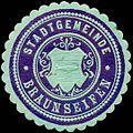 Siegelmarke Stadtgemeinde Braunseifen W0317683.jpg