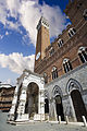 Siena Tower view in Piazza del campo, Siena - 1472.jpg