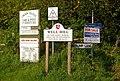 Sign overkill - geograph.org.uk - 796345.jpg