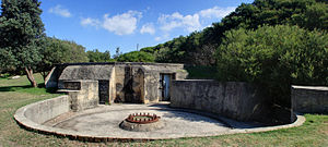 Old South Head Road, Sydney - Signal Hill Battery