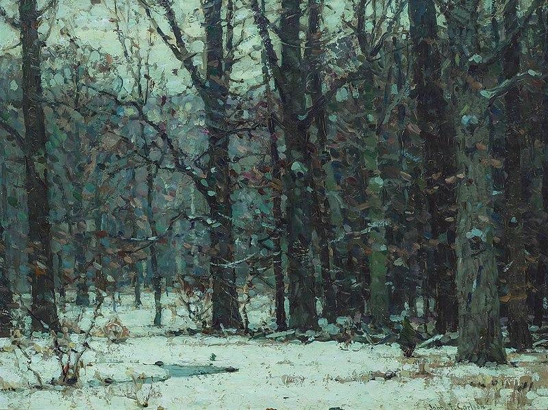 Silent Woods by John Fabian Carlson.jpg