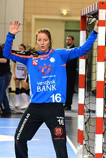 Silje Solberg Norwegian handball player