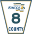 Simcoe Road 8 sign.png