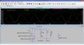 Simulation in LTspice of a three-phase three-wire wye-connected unbalanced ungrounded non-linear time-variant device supplied by a three-phase wye-connected balanced voltage source with positive phase sequence.png
