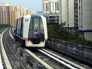 Sengkang LRT line LRT line in Sengkang, Singapore