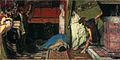 Sir Lawrence Alma-Tadema, RA, OM - A Roman Emperor (Claudius) - Walters 37165.jpg