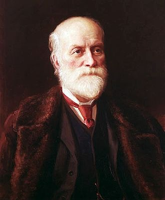 Sandford Fleming - Portrait of Sir Sandford Fleming by John Wycliffe Lowes Forster