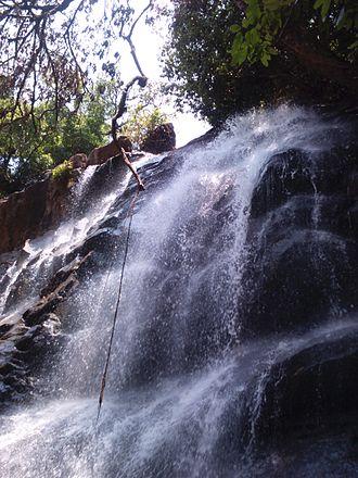 Sringeri - Sirimane Falls near Sringeri