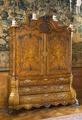 Skåp med intarsia, blomsterintarsia. Senbarock - Hallwylska museet - 108957.tif