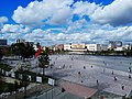 Skanderbeg square from the Municipality building rooftop.jpeg