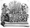 Skeletal and visceral remains by C. Huyberts Wellcome L0018949.jpg