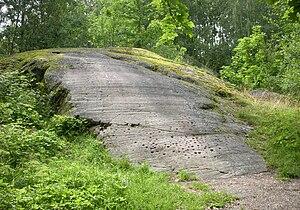 Slagsta - Image: Slagstaristningen 2009