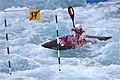 Slalom canoeing 2012 Olympics W K1 POL Natalia Pacierpnik (2).jpg