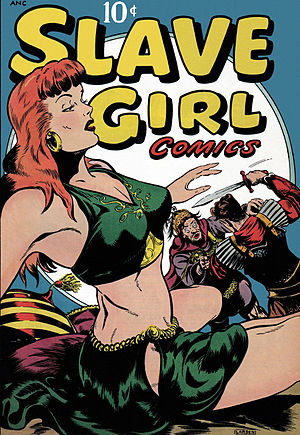 Avon (publisher) - Slave Girl Comics, one of the titles published by Avon
