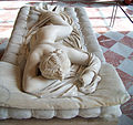 Sleeping Hermaphroditus 2, Louvre May 2010.jpg