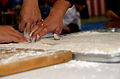 Slicing mochi.JPG